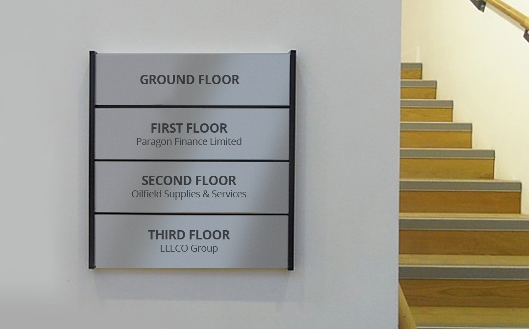Modular Wayfinder Signage Systems Halo 2 Halo Signs