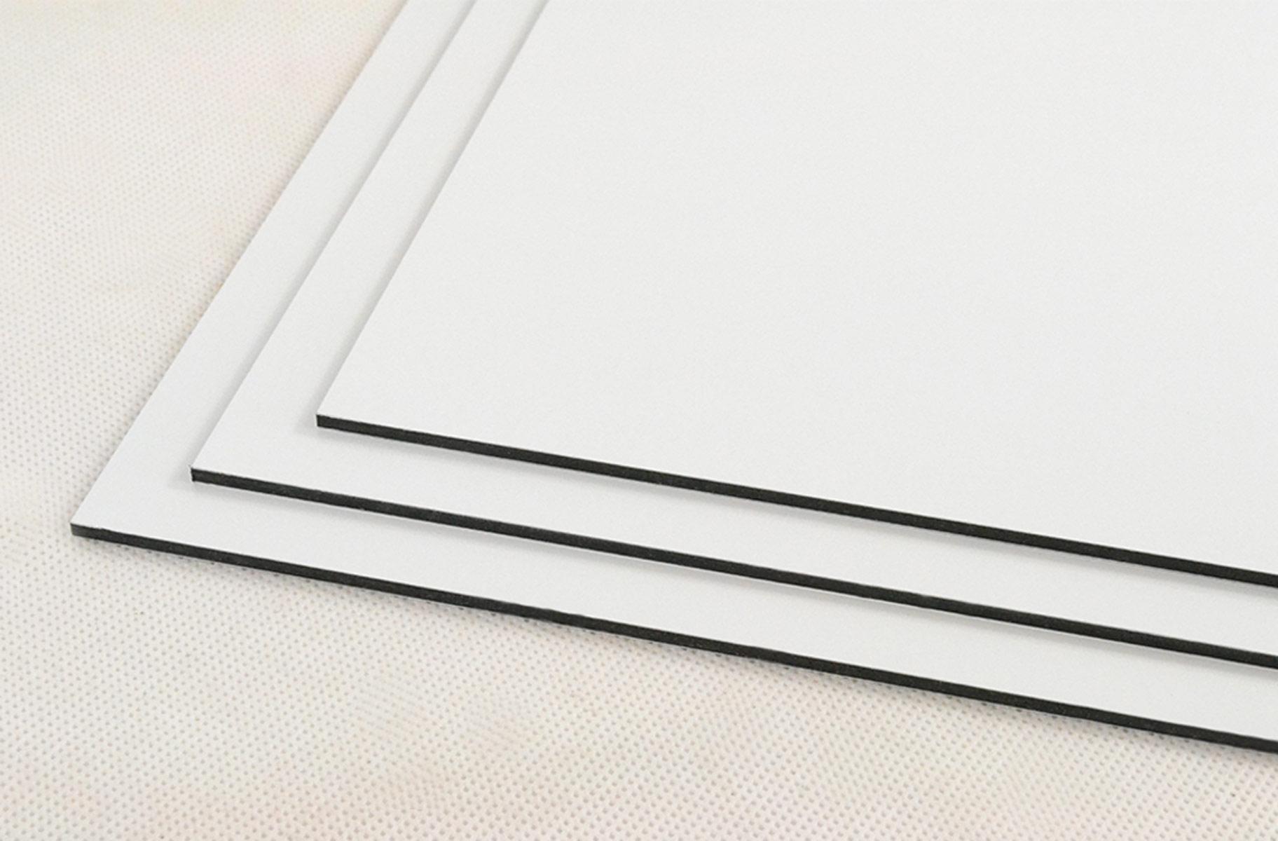 dibond white halo signs. Black Bedroom Furniture Sets. Home Design Ideas