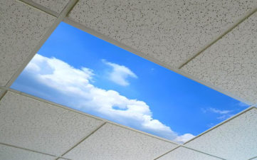 ceiling light diffuser panels printed